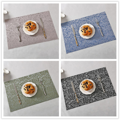 AU4.79 • Buy Dining Table Place Mats Placemats Rectangular Washable Mat Kitchenware CB