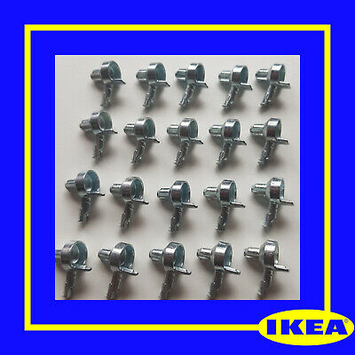 131372 X 20 IKEA Billy Bookcase Shelf Pins/ Support/ Fixings - 100% Genuine • 15£