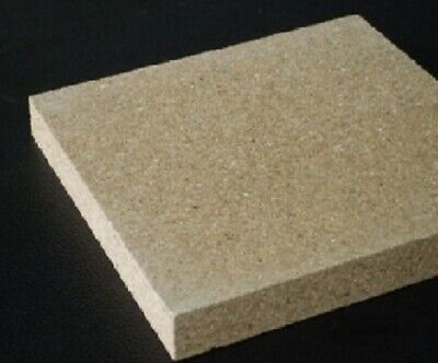 £17.24 • Buy Vermiculite Stove Fire Brick To Suit Villager Stove 9  X 6  X 1   Select QTY Req
