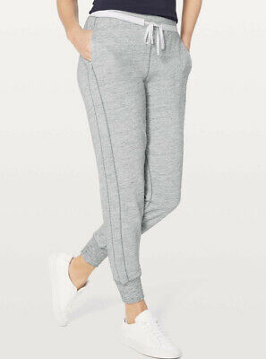 $ CDN85 • Buy LULULEMON ATHLETICA Heathered Slate COOL & COLLECTED JOGGER/ Pants Size 4 SMALL