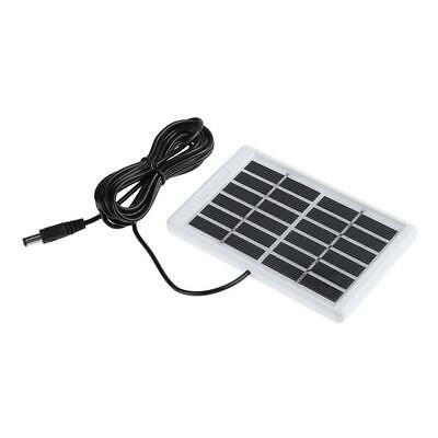 £4.44 • Buy 6V 1.2W Solar Panel Polycrystalline DC Interface Plug Cell Battery Charger