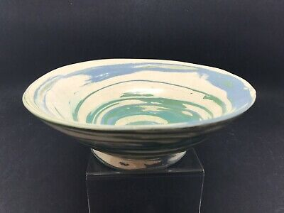 """£12.50 • Buy Unusual Little Pottery Bowl """"H L Wilson"""" Agate Ware Mawnan (Or388)"""