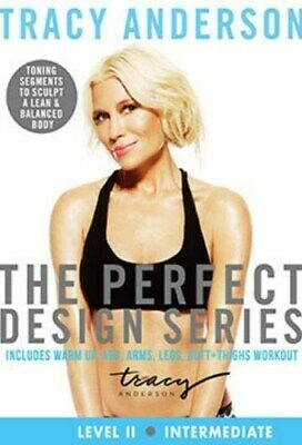£10.23 • Buy Tracy Anderson The Perfect Design Series Level 2 Intermediate Exercise Dvd New