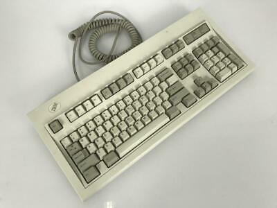 IBM Model M Mechanical Clicky Keyboard PS/2 White Label • 126.63£