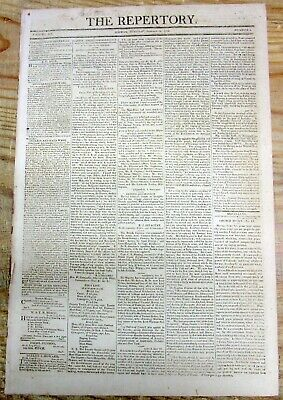 £54.56 • Buy 2 1806 Newspapers W VICTORY Of British Admiral Nelson At The BATTLE OF TRAFALGAR