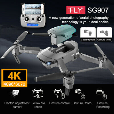 AU223.75 • Buy 4K HD Drone X Pro Aerial Camera WIFI FPV GPS Foldable Mini Selfie RC Quadcopter