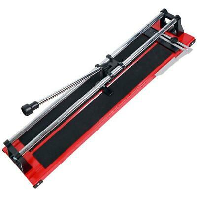 £29.99 • Buy Large 24  600mm Tile Saw Hand Floor Wall Tile Cutter Cutting Machine New