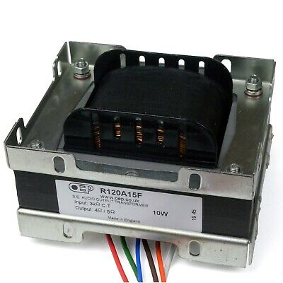 £91 • Buy 10W Single Ended Amplifier Output Transformer For EL34 Valve (OEP R120A15F)