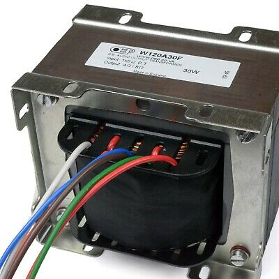 £100 • Buy 30W Single Ended Amplifier Output Transformer For EL34 Valve (OEP W120A30F)