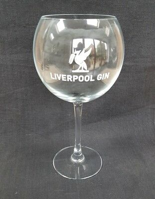 A Stunning Liverpool Gin Company Balloon Glass - NEW - Home Bar - Pub -Gin Lover • 5£