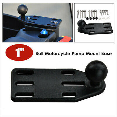 AU23.12 • Buy 1  Ball Motorcycle Brake/Clutch Reservoir Cover Cap Mount Base For Phone Holders