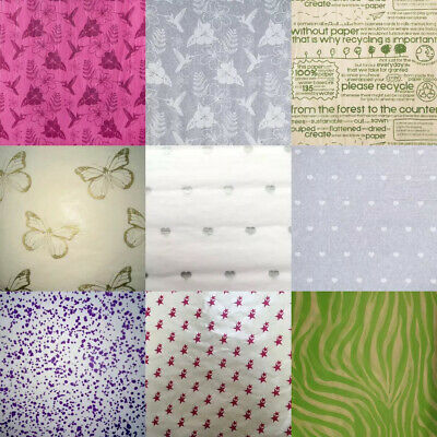 £2.27 • Buy  Printed Tissue Paper High Quality Acid Free Bio Recyclable 10 Designs