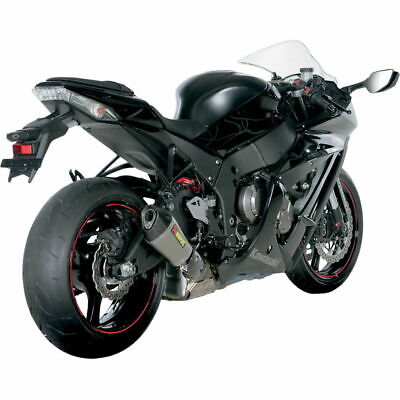 $635.73 • Buy Akrapovic Kawasaki ZX-6R/RR 2005-2006 Street Legal Slip On Exhaust