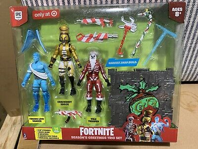 $ CDN46.10 • Buy Fortnite Yule Trooper Frozen Love Ranger Crackshot Season's Greetings Trio Set
