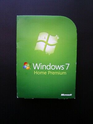 Microsoft Windows 7 Home Premium Genuine Full UK Retail Boxed 32-bit/64-bit DVD • 79£