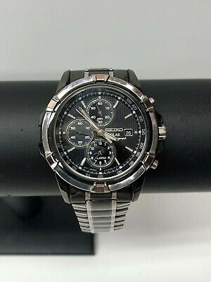 $ CDN141.61 • Buy Seiko Solar Chronograph Men's Watch Model V172-0AJ0