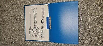 BELL 47 G VINTAGE MORLEY HELICOPTER 18 Page Build Instructions Manual  • 10£