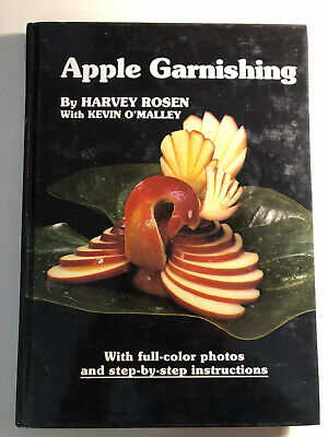 £9.49 • Buy Apple Garnishing : Packaged With Tools Hardcover Kevin O'Malley Harvey Rosen