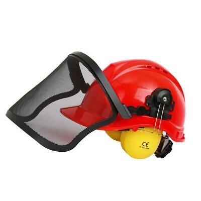 £20.99 • Buy  Safety Helmet Hard Hat With Visor Face & Ear Protection Chainsaw Brushcutter