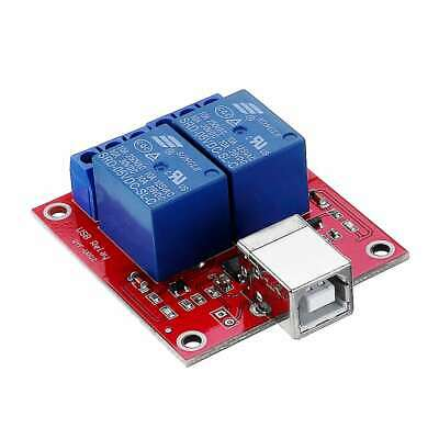 AU14.95 • Buy 2 Channel 5V Low Level USB Relay Module