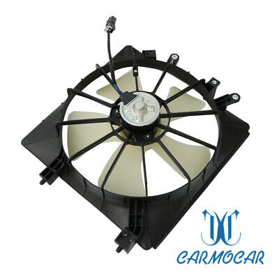 $30.97 • Buy Fits For 2001-2005 Honda Civic 1.7L AC Condenser Radiator Cooling Fan Assembly