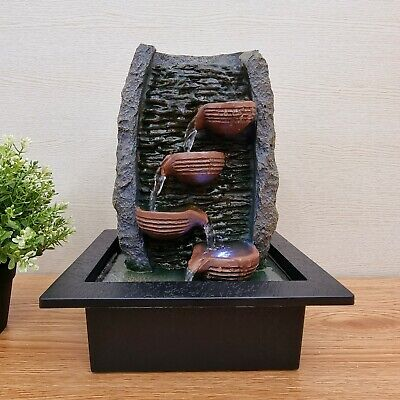 AU80 • Buy Water Fountain - Indoor/Outdoor Water Feature With LED Lights - Ripple