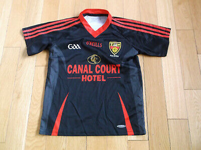 O'neills Down Gaa Jersey 2011-12 Color Black, Size Age 10-11,  • 19.99£