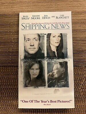 AU1.35 • Buy  THE SHIPPING NEWS  VHS Kevin Spacey Julianne Moore Judi Dench Cate Blanchett