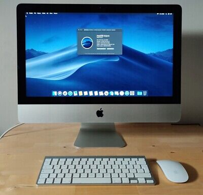 Apple IMac A1418 21.5  Quad Core I5 8GB 500GB (Mid 2014) Warranty Ms Office Fast • 499£