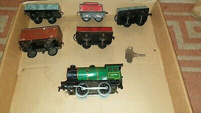 Clockwork Vintage Train Set  Made In England By Meccano | Lots Of Tracks • 150£