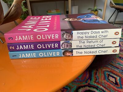 AU19.95 • Buy Jamie Oliver Cook Books X3   Naked Chef Series