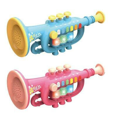 Trumpet Instrument Musical Toy Children Simulation Trumpet Early Educational • 13.27£