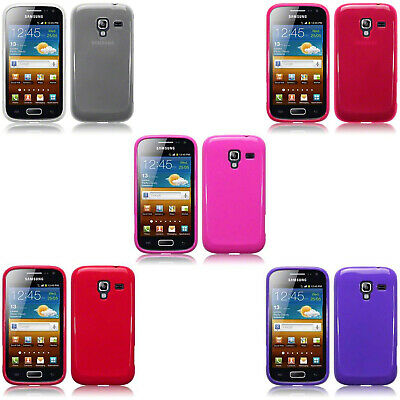 £3.99 • Buy Silicone Slim TPU Gel Back Protector Case Cover For Samsung Galaxy Ace 2 I8160