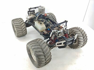 Team Associated MGT 4.6 1/8 Scale Nitro Monster Truck ARTR Used Older • 164.57£