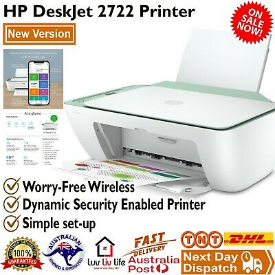 AU84.99 • Buy HP DeskJet 2722 Wireless All In One Printer HP Smart App Compatible Colour New
