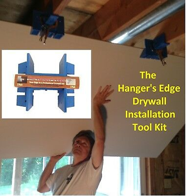 £19.43 • Buy Drywall Tools (DIYer Installation Kit Or Drywall Lift) -The Hanger's Edge 2 Pack