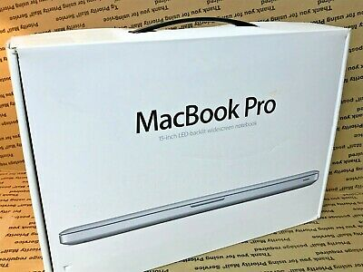$22.32 • Buy Macbook Pro Empty Box Only - 15  Inch For Gifting A1286 2008 2009 2010 2011 2012