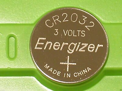 AU2.99 • Buy 2X Energizer CR2032 Lithium Coin Cell Button 3V Battery Batteries Free Postage