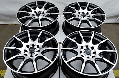 $499 • Buy 15  Wheels Rims Black Fit Honda Accord Civic Toyota Yaris Kia Rio Nissan Versa