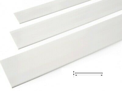 236.22  📏6 M Flat Bar Trim  Door Window Architrave White Pvc Cover Strip • 8.99£