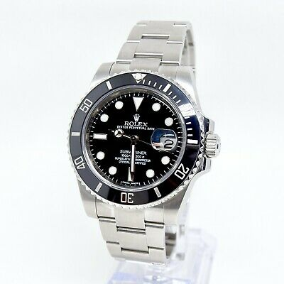 $ CDN17599.64 • Buy Rolex Submariner 116610LN Box And Papers 2011 40mm Discontinued