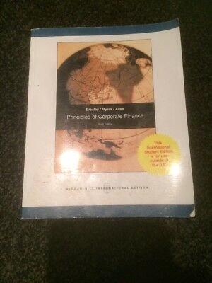 £22 • Buy Principles Of Corporate Finance: Pt. E By Franklin Allen, Stewart C. Myers, Ric…