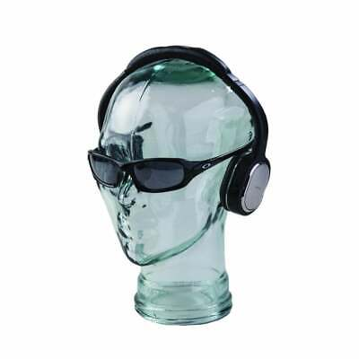 £25.05 • Buy Glass Display Head - Unisex Mannequin Head - Made From Clear Recycled Glass