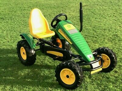 £500 • Buy Large Berg, John Deere, Traxx Tractor, Pedal Go Kart/cart. For Ages 5 To Adult..