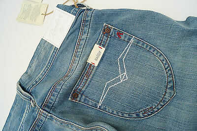 Replay WV580F Baggy Janice Women's Jeans Hip Pants Flare W27 L34 Blue New Ad16 • 52.96£