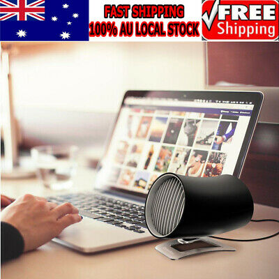 AU14.59 • Buy New USB Mini Ultra Quiet Portable Rotatable Touch Control USB Cooling Desk Fan
