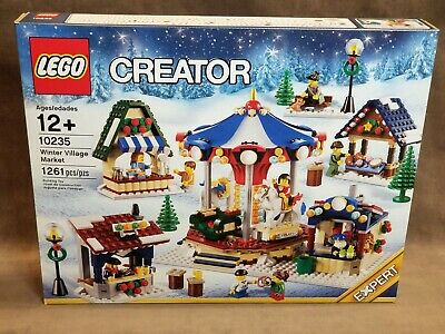 LEGO Creator Expert 10235: Winter Village Market - NEW FACTORY SEALED Christmas • 193.30£