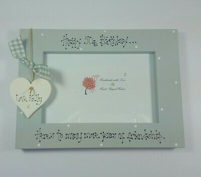 £13 • Buy Friend Personalised Photo Frame Auntie Sister 30th 40th 50th Birthday Gift