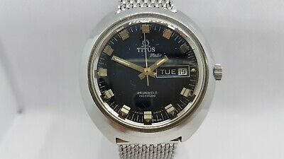 £250 • Buy 1970's Swiss Made Titus Matic(Clebar). Exactly Same As Titus Clebar Divers Watch