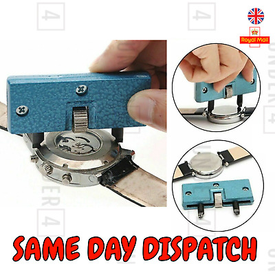 £3.20 • Buy Watch Back Case Removal Tool Opener Screw Wrench Repair Tool Kit Remover NEW UK
